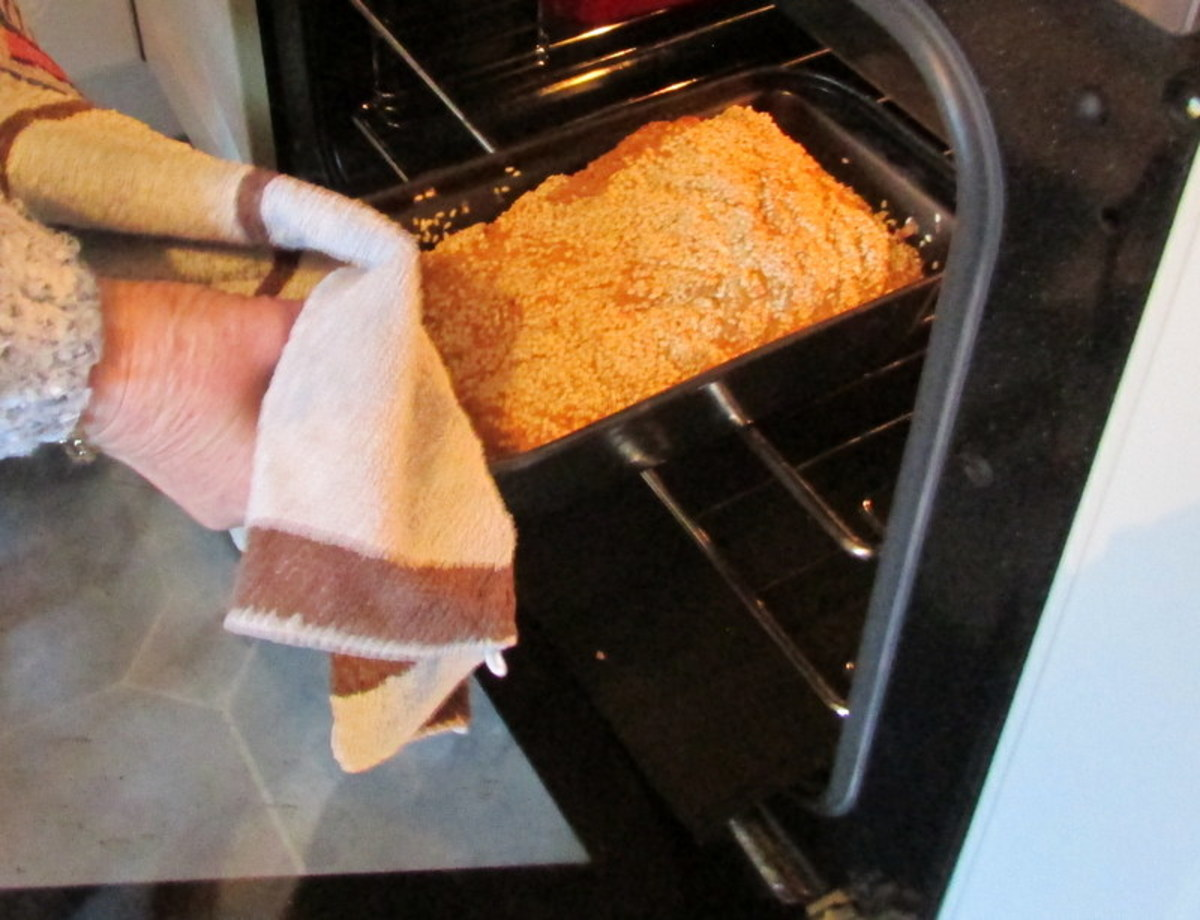 Place in the oven, and cook for approximately 50 to 60 minutes.