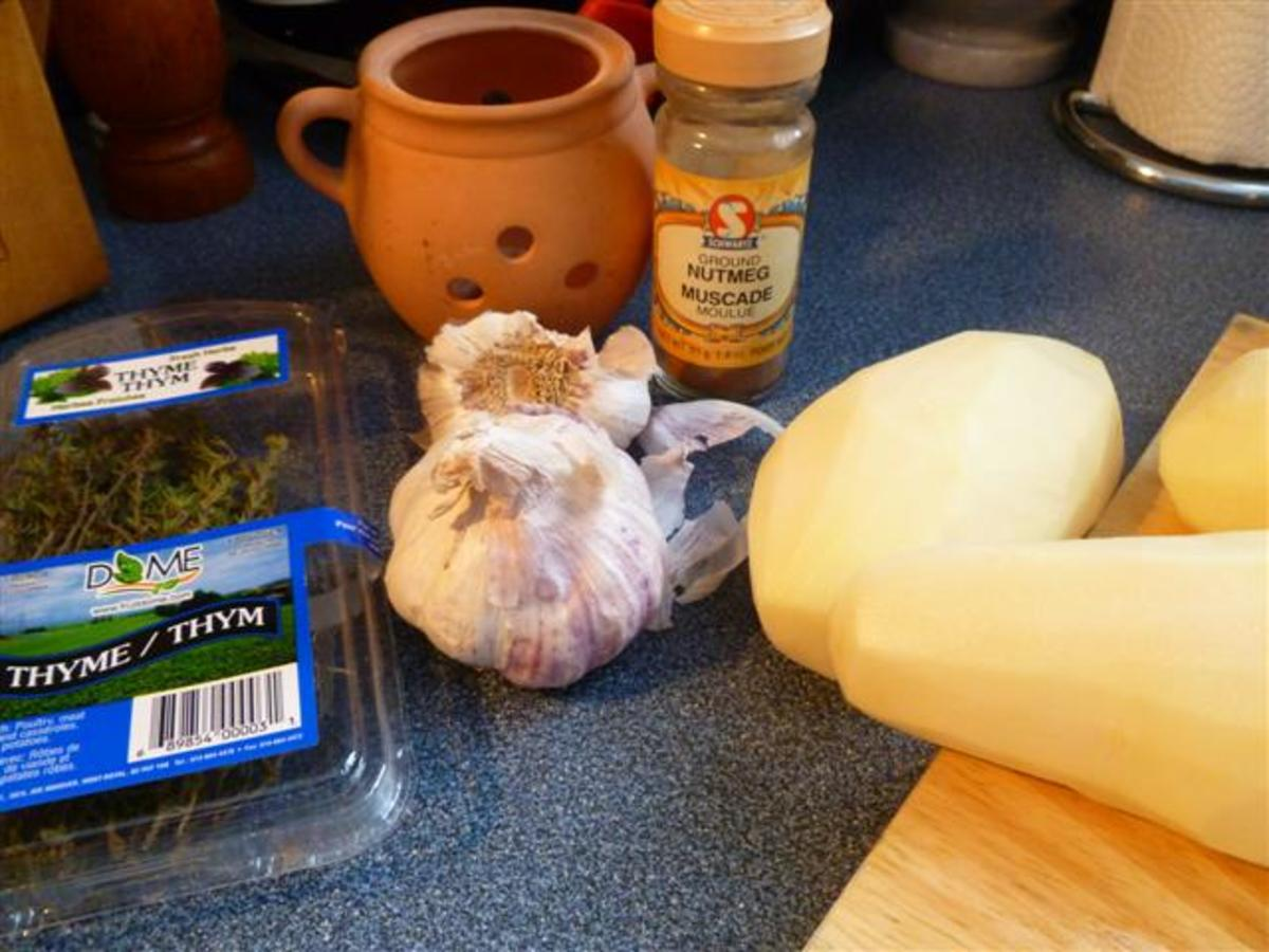 Just a few ingredients needed to make this recipe