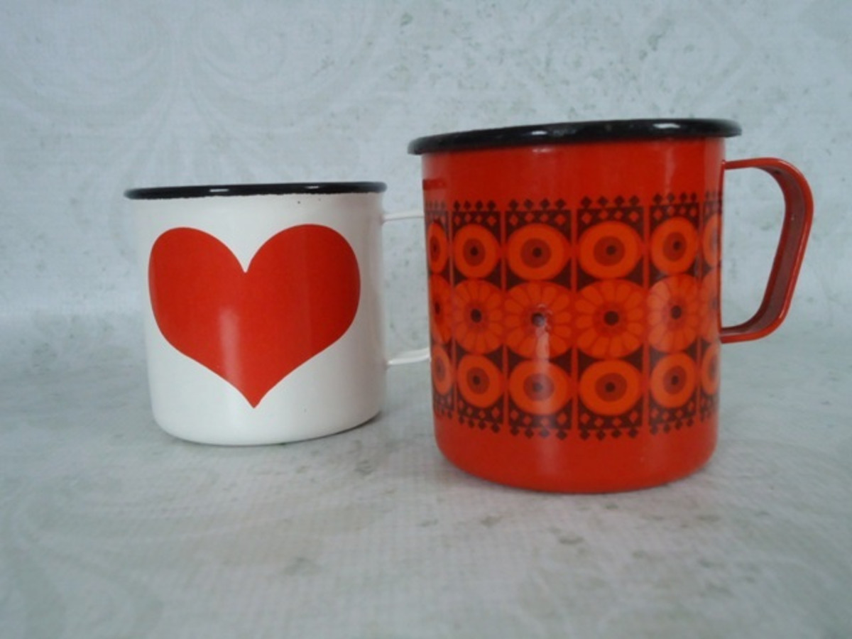 The pretty, bright colors of mid 20th century Scandinavian design are highly collectible and quite expensive