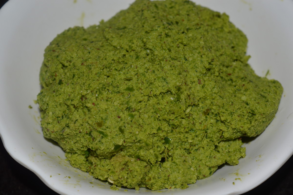 Hot & spicy coriander chutney