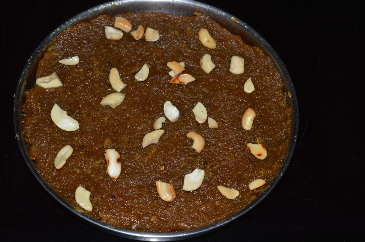 "Jack fruit Sweets: Making a Dessert Called ""Jack fruit Halwa"""