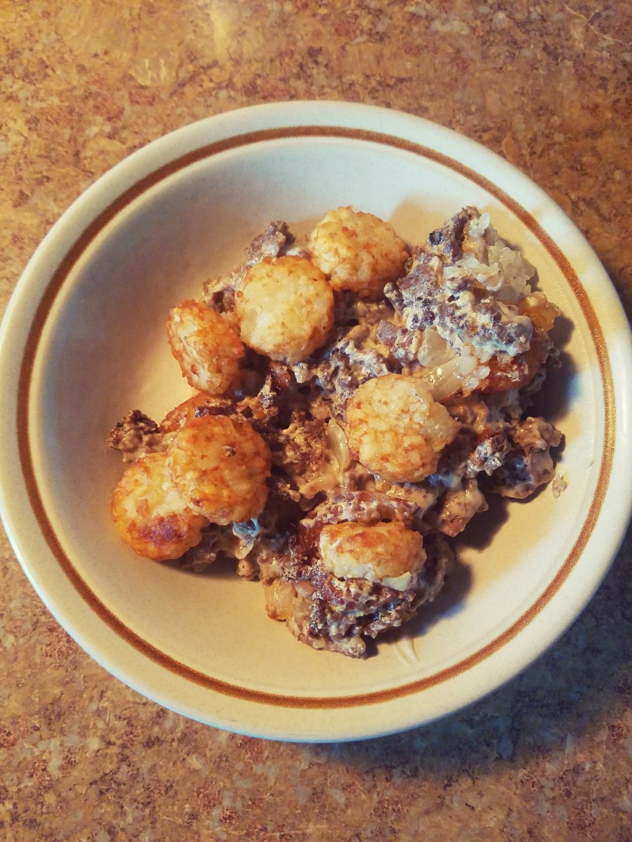 Twisted Tater Tot Casserole. Yum!