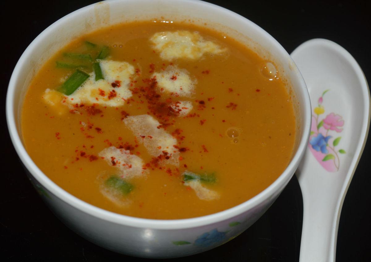 Hot Pumpkin Soup