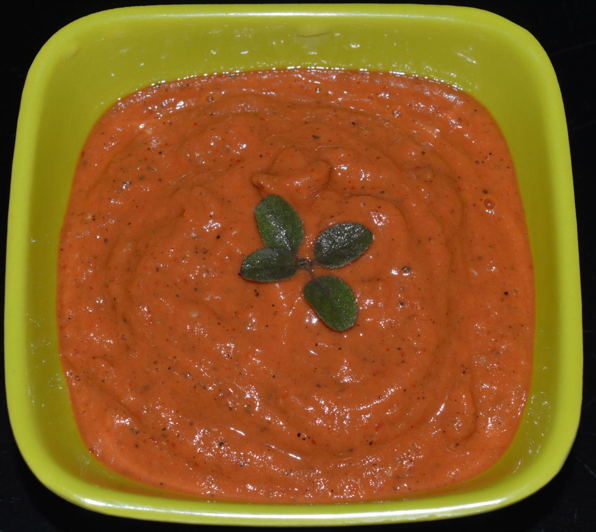 Step eight: Fried tomato and garlic dip or sauce is ready to serve.