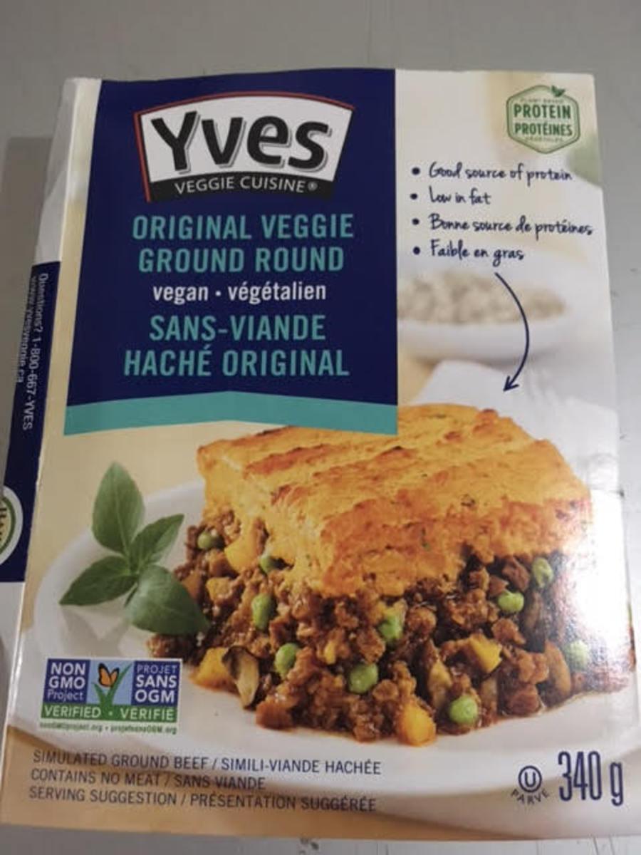 Example of vegetarian meat