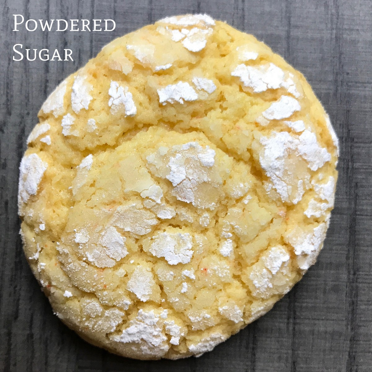 Powdered Sugar Cake Mix Cookies