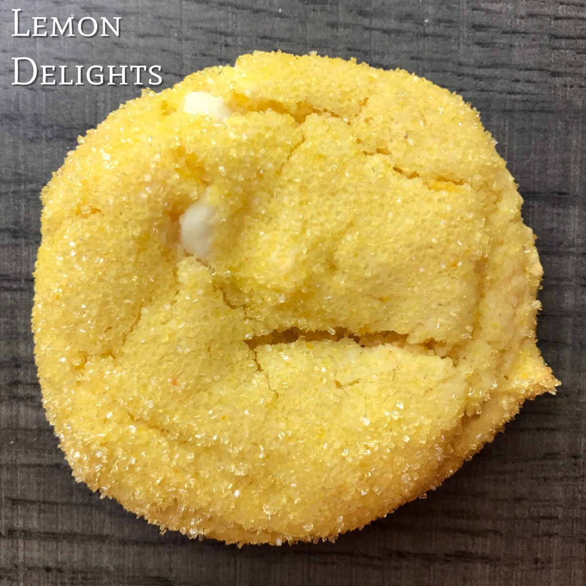 Lemon Delight Cake Mix Cookies