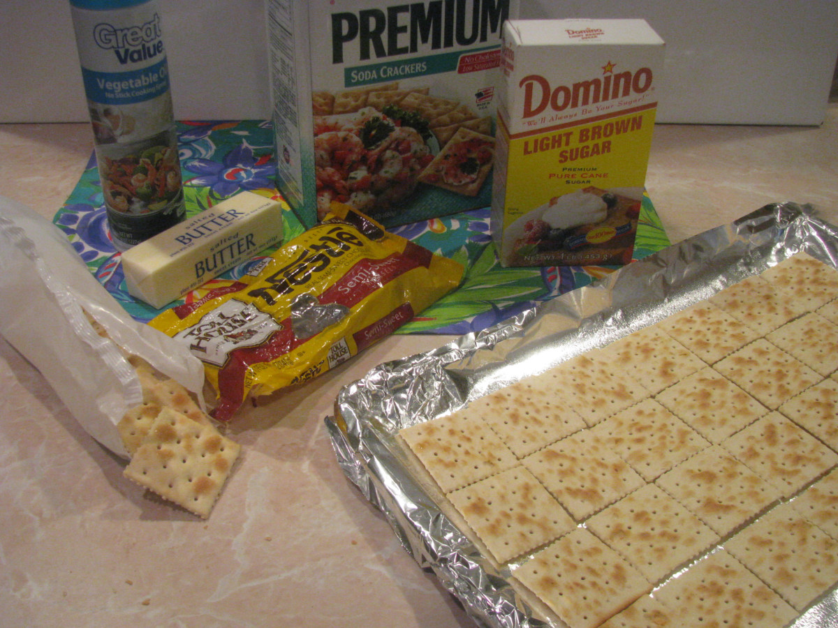 Cracker Candy Ingredients