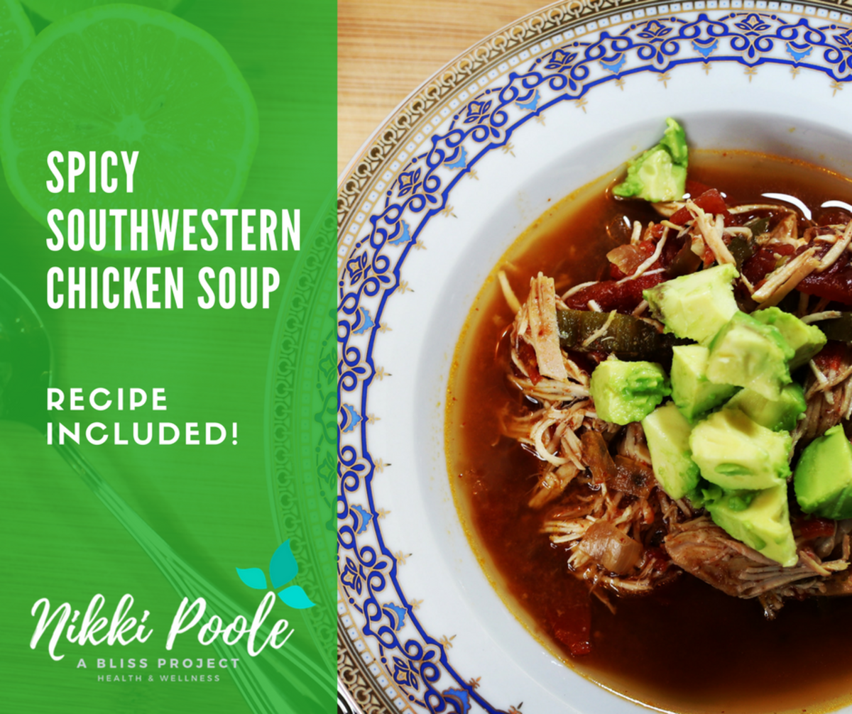 Simple Spicy Southwest Chicken Soup That Doubles as Meal Prep