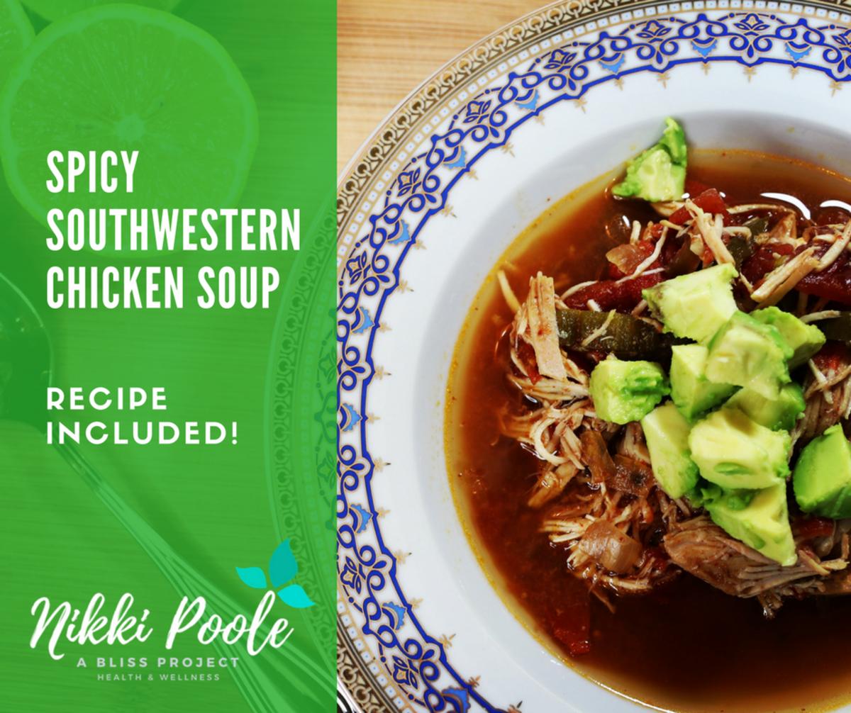 Spicy Southwestern Chicken Soup