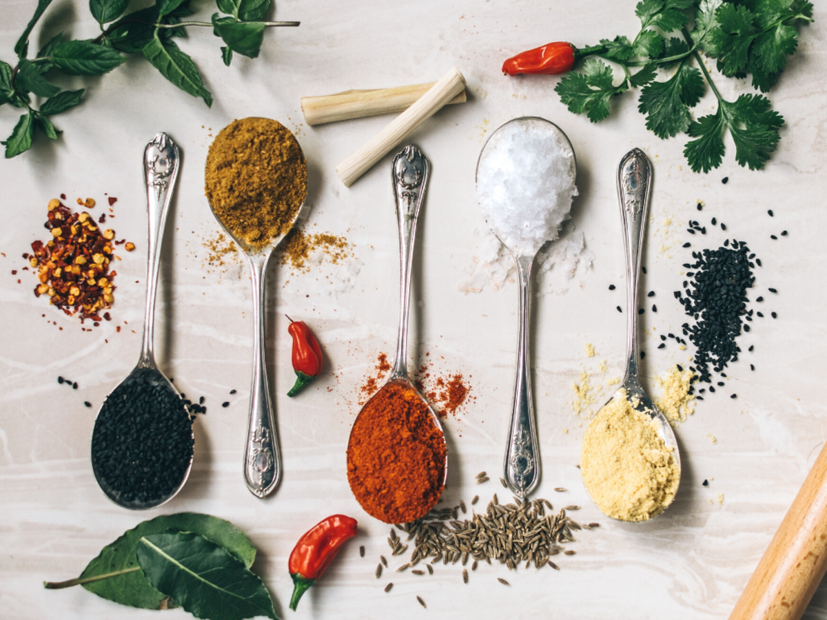 Which spices taste best with which ingredients?