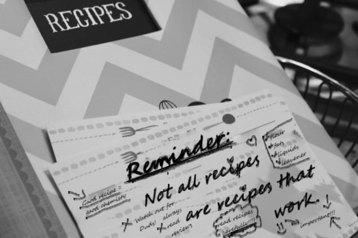 Not all recipes work.