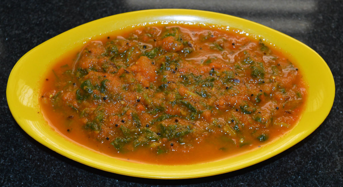 Serve with chapati, roti, pulka, or rice.
