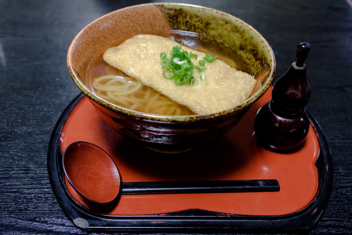 Kitsune Udon.