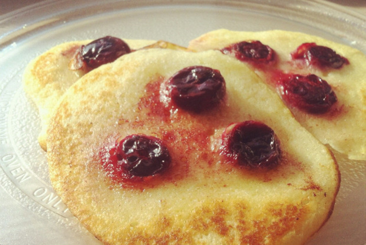 They don't look any worse than normal pancakes!