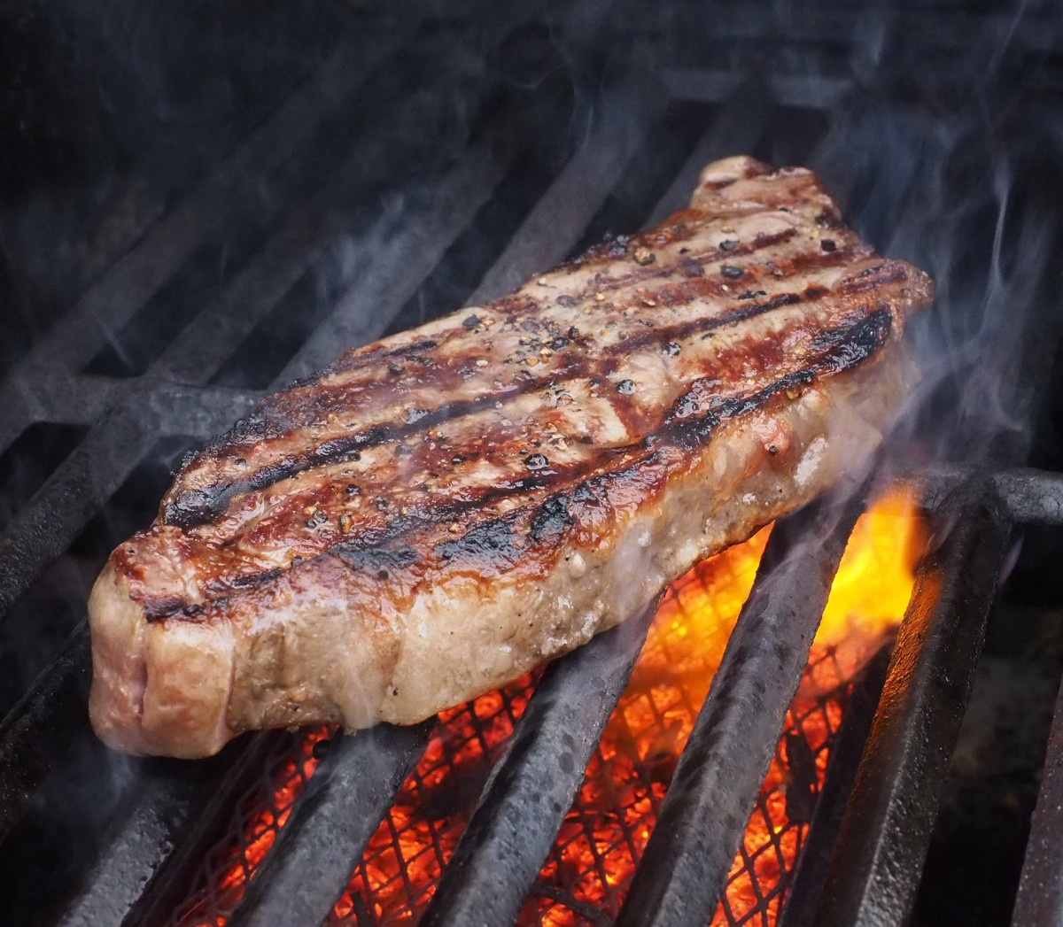 A Sirloin Steak in its Natural Habitat