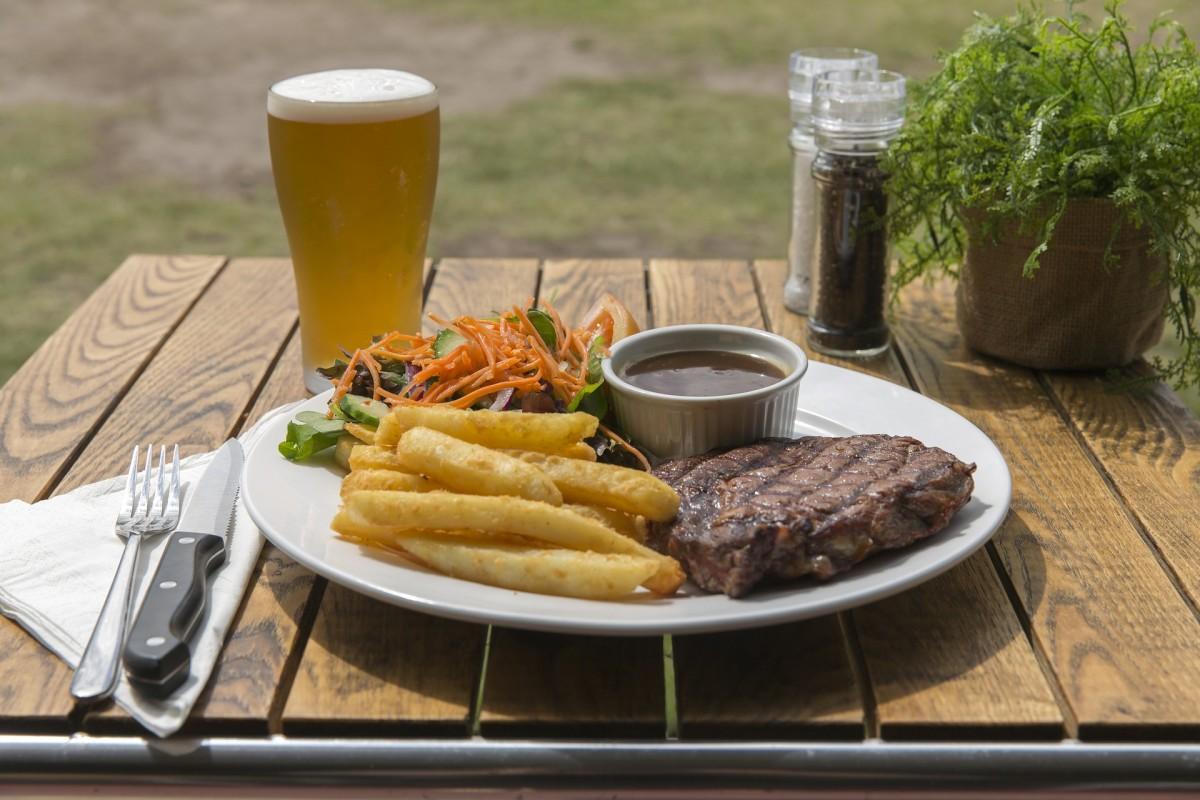 A Great way to Serve Steak
