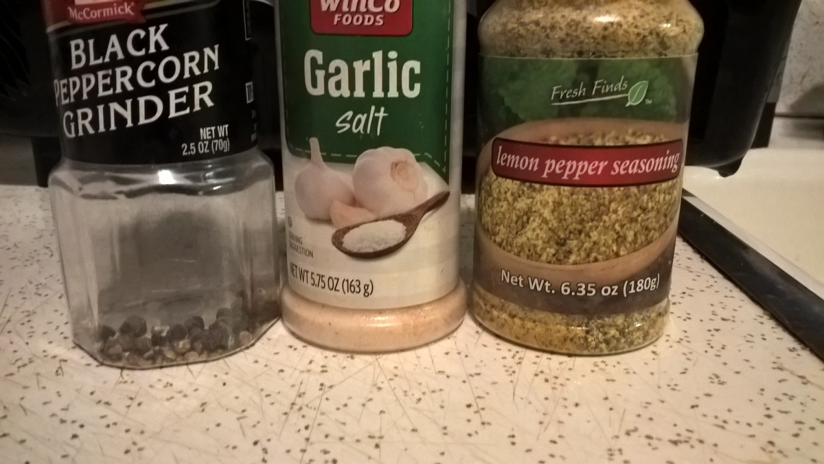 Various seasonings you can use.