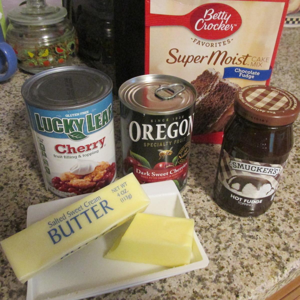 The ingredients.