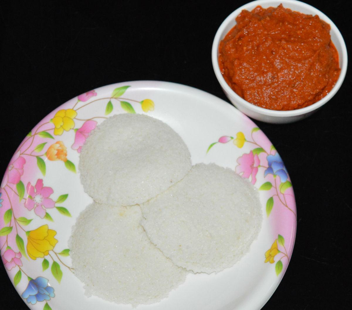 Serve this tomato lentil chutney with idli, dosa, or steamed rice. Enjoy the taste.