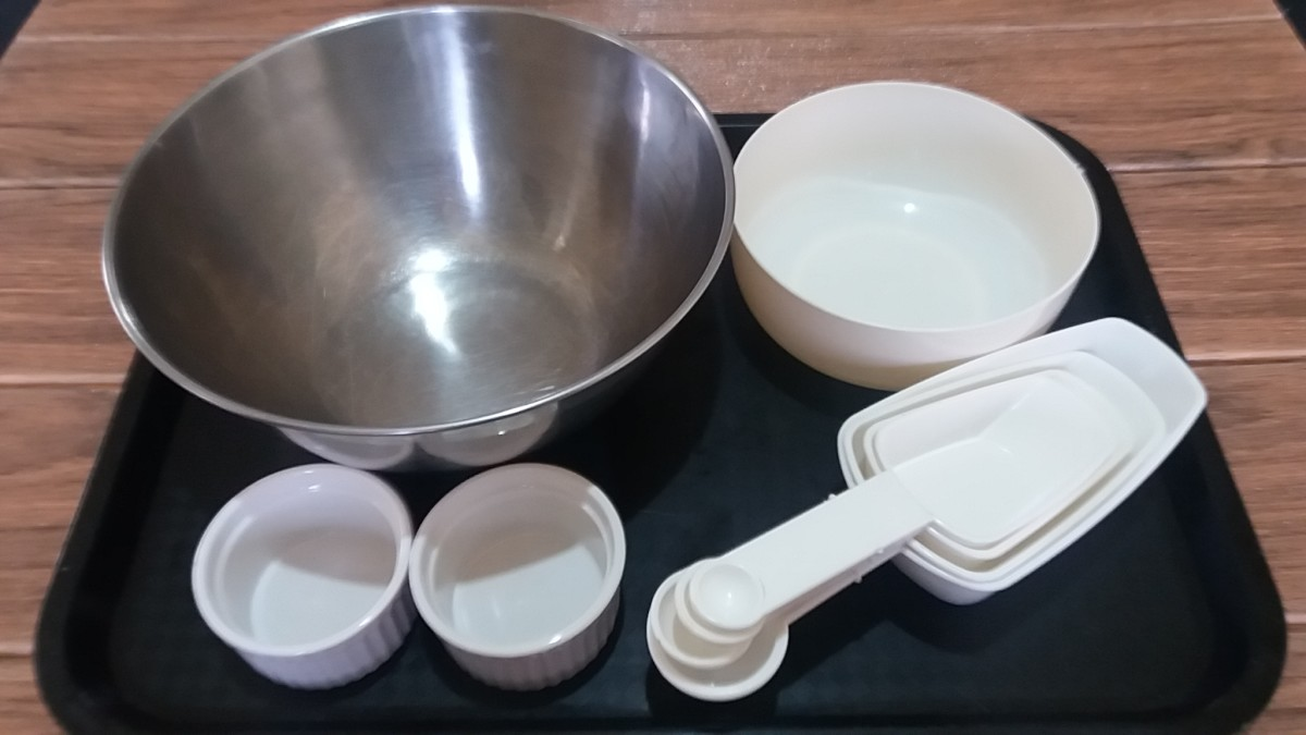 Utensils for Preparing the Batter