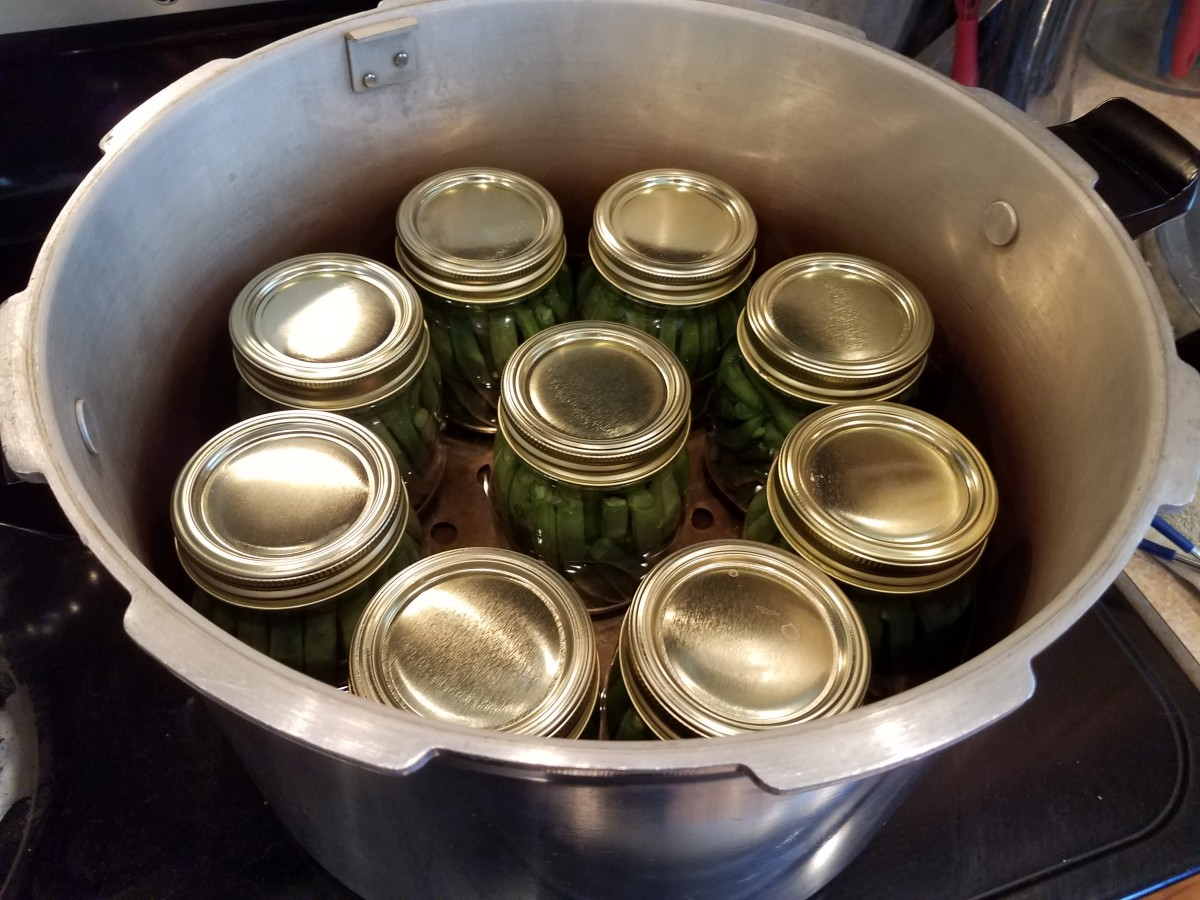 My canner holds 9 pints.