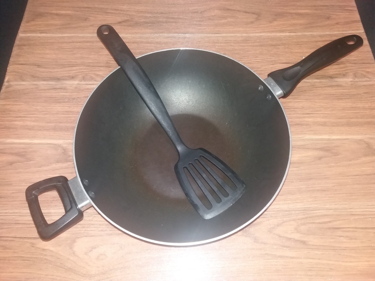 Utensils for Cooking the Fried Rice