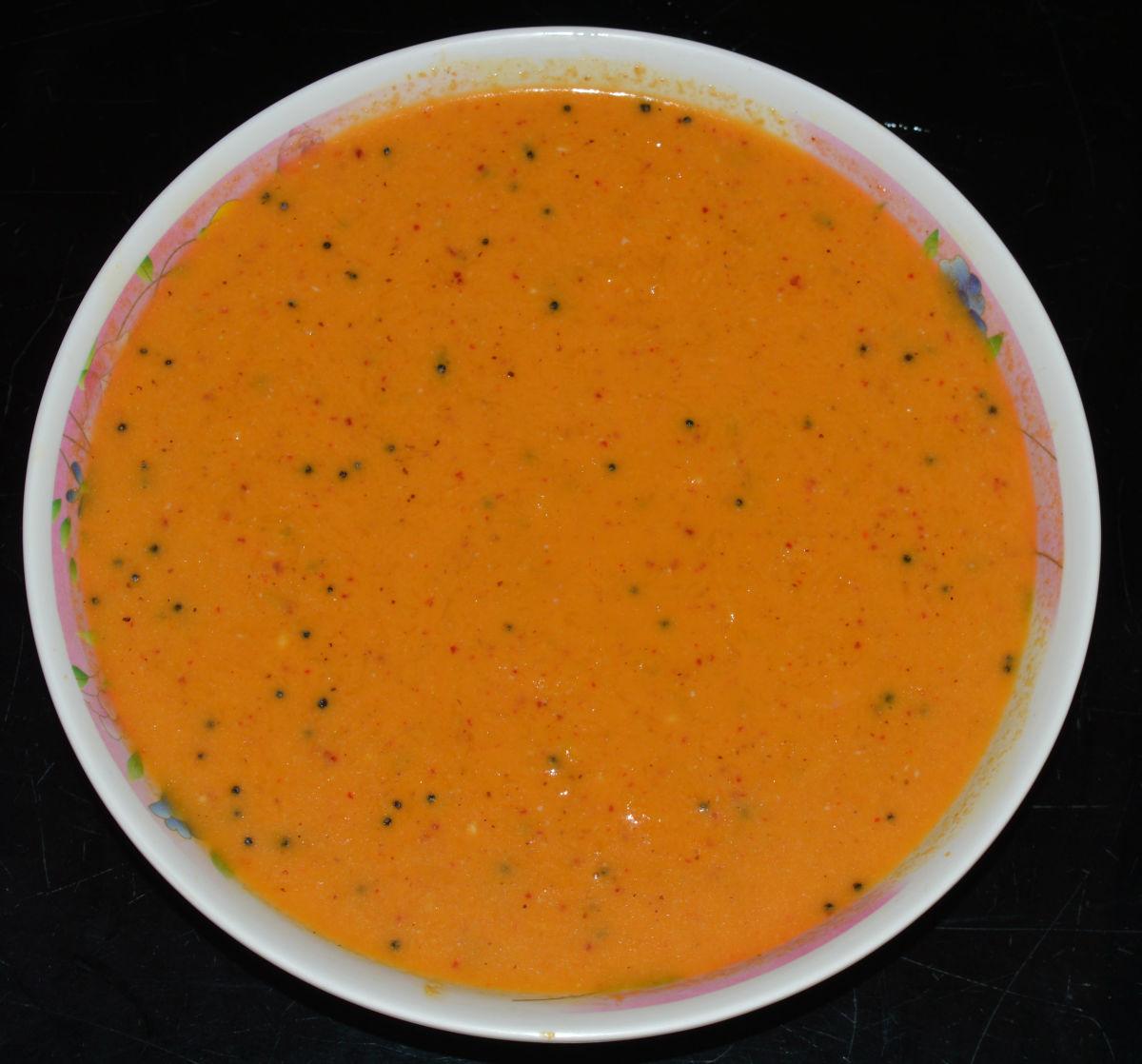 Serve the raita with plain rice, dosa, chapati, or flatbread. Enjoy eating the combo!