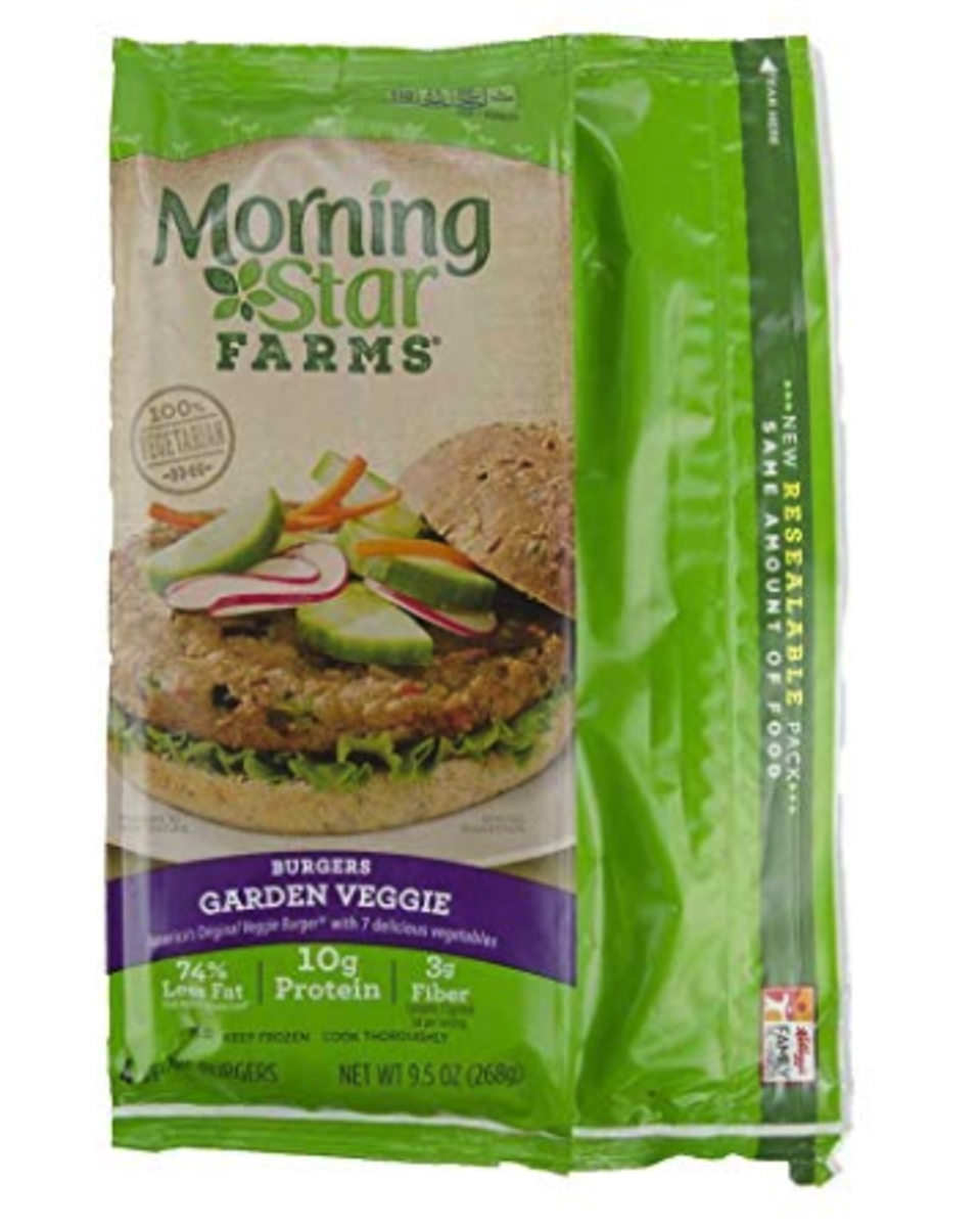 The Garden Veggie Burger by Morningstar Farms.