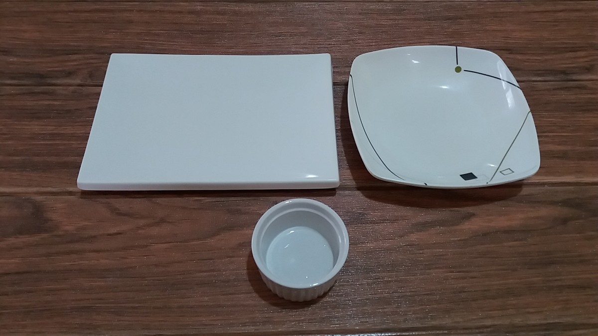 The utensils used to prepare the dish.