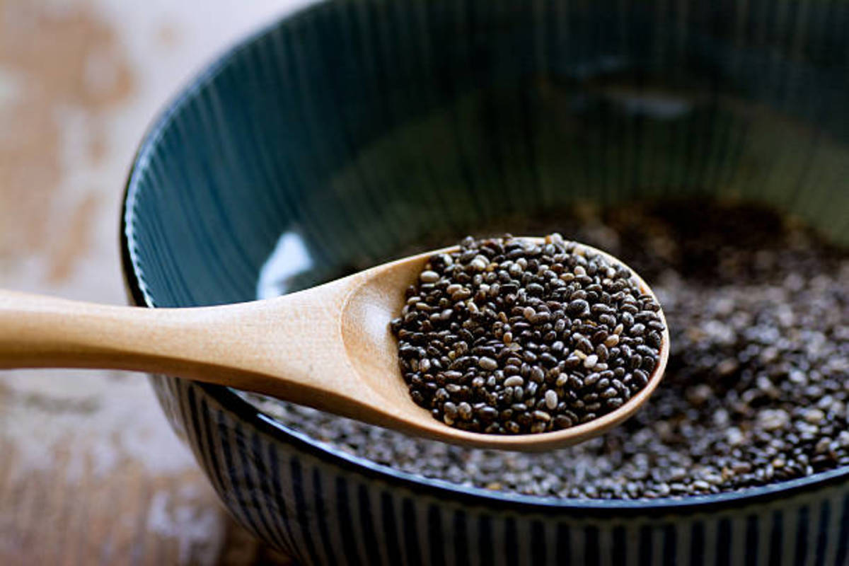 Chia seeds contain numerous nutritional benefits, including being a good source of Omega 3 fatty acids.