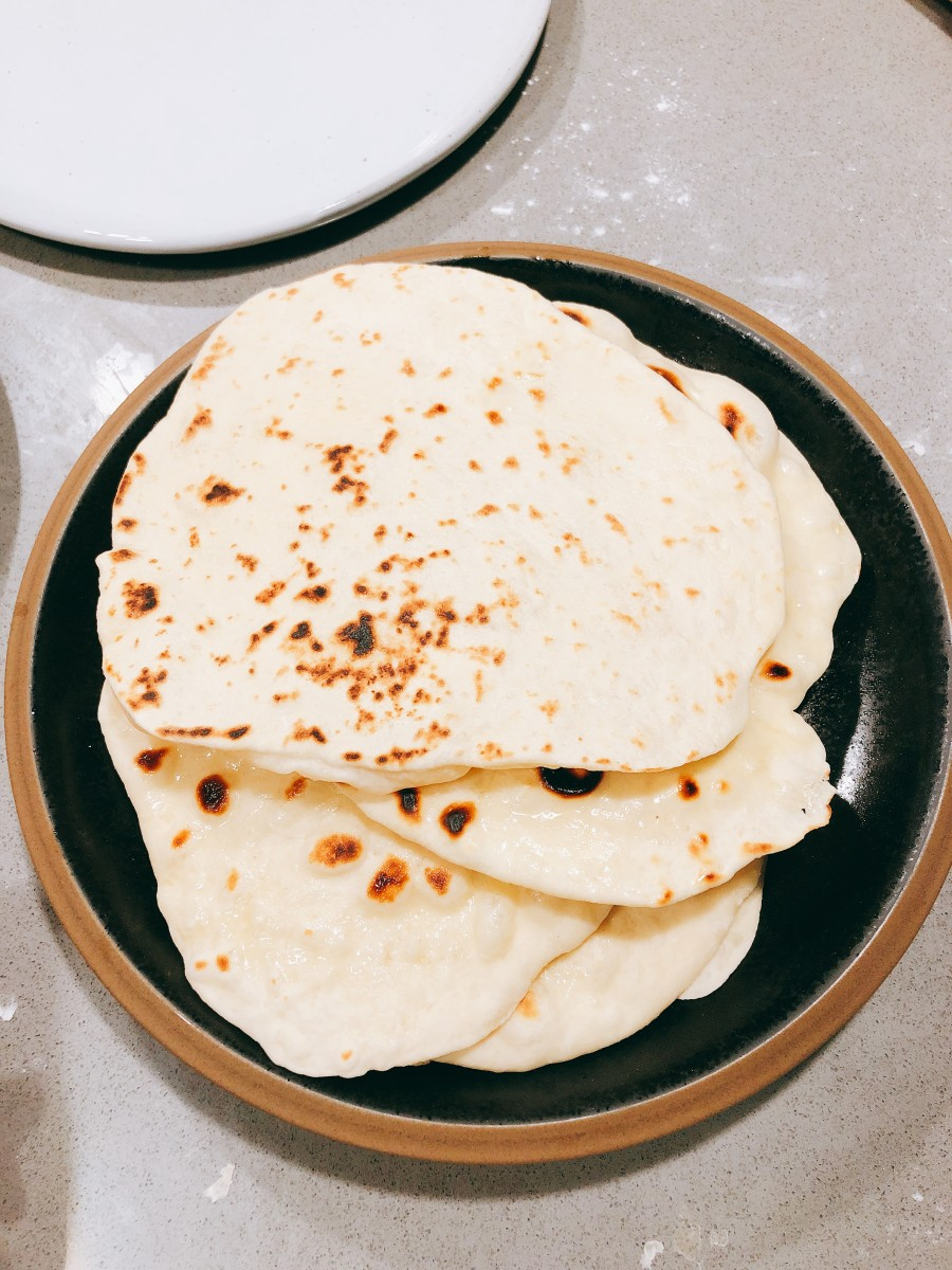 How to Make Basic Naan Bread at Home