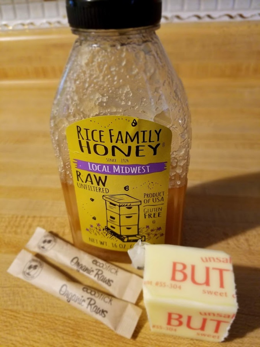 Ingredients for Honey Glaze