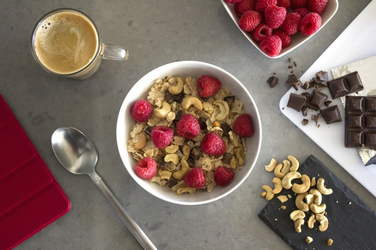Raspberry Chocolate Overnight Oats