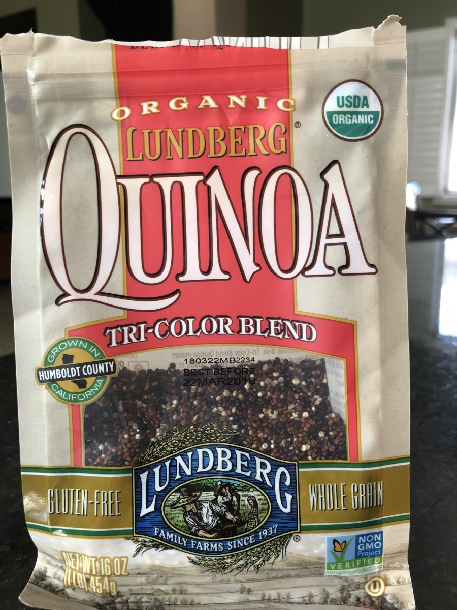 Telling kids they're eating rainbow quinoa sounds way more magical than tri-color blend! This is the brand of quinoa I like to use, but any quinoa will work.