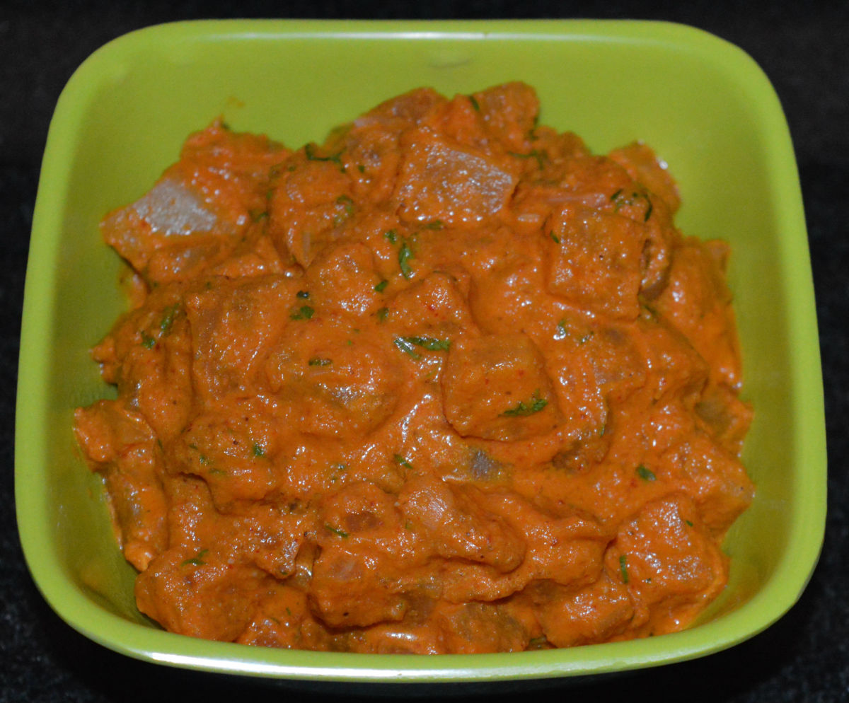 Radish Curry (Mooli Subzi)