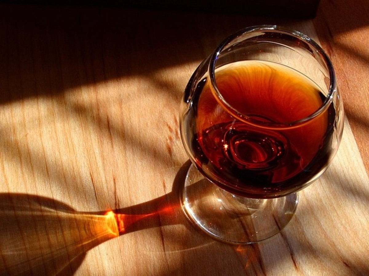 High-quality cognac is a must.