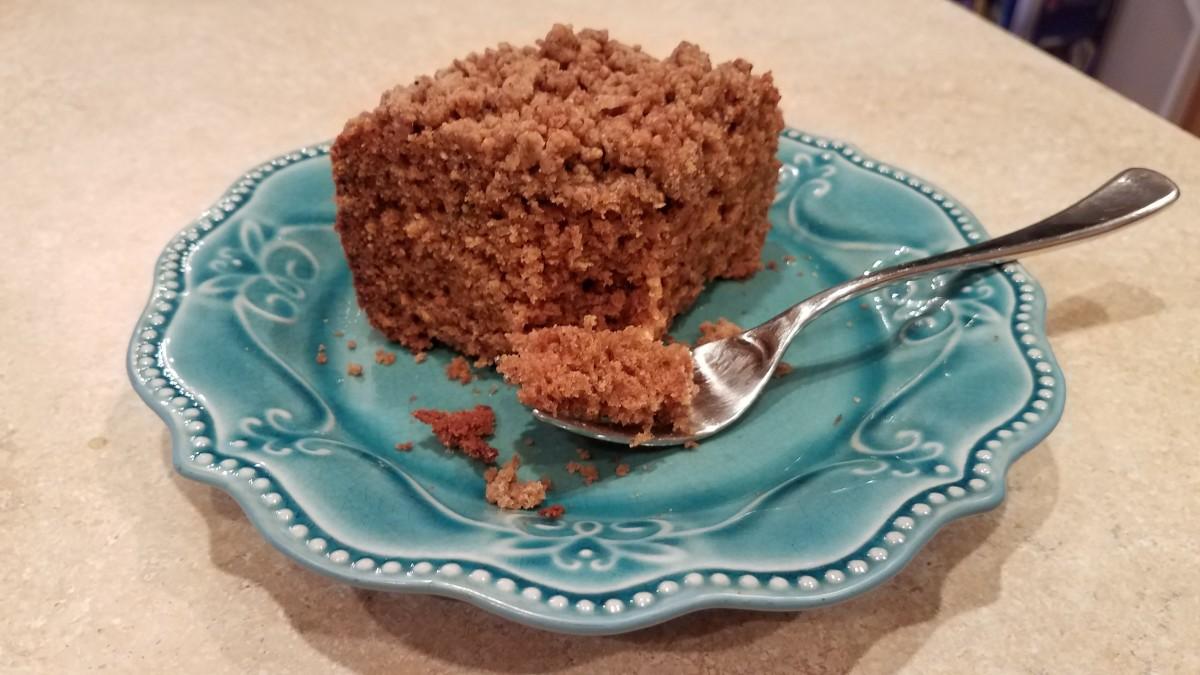 Gingerbread Coffee Cake