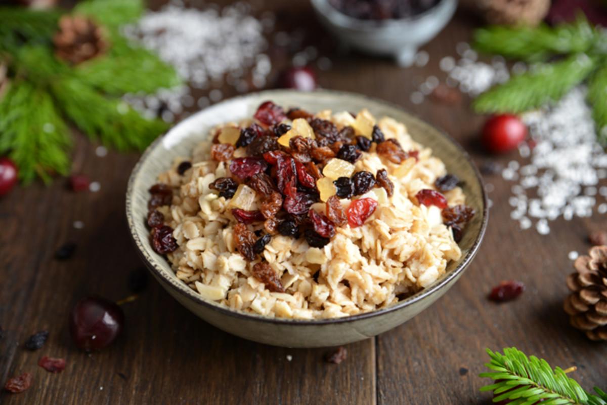 Christmas-Flavored Oatmeal