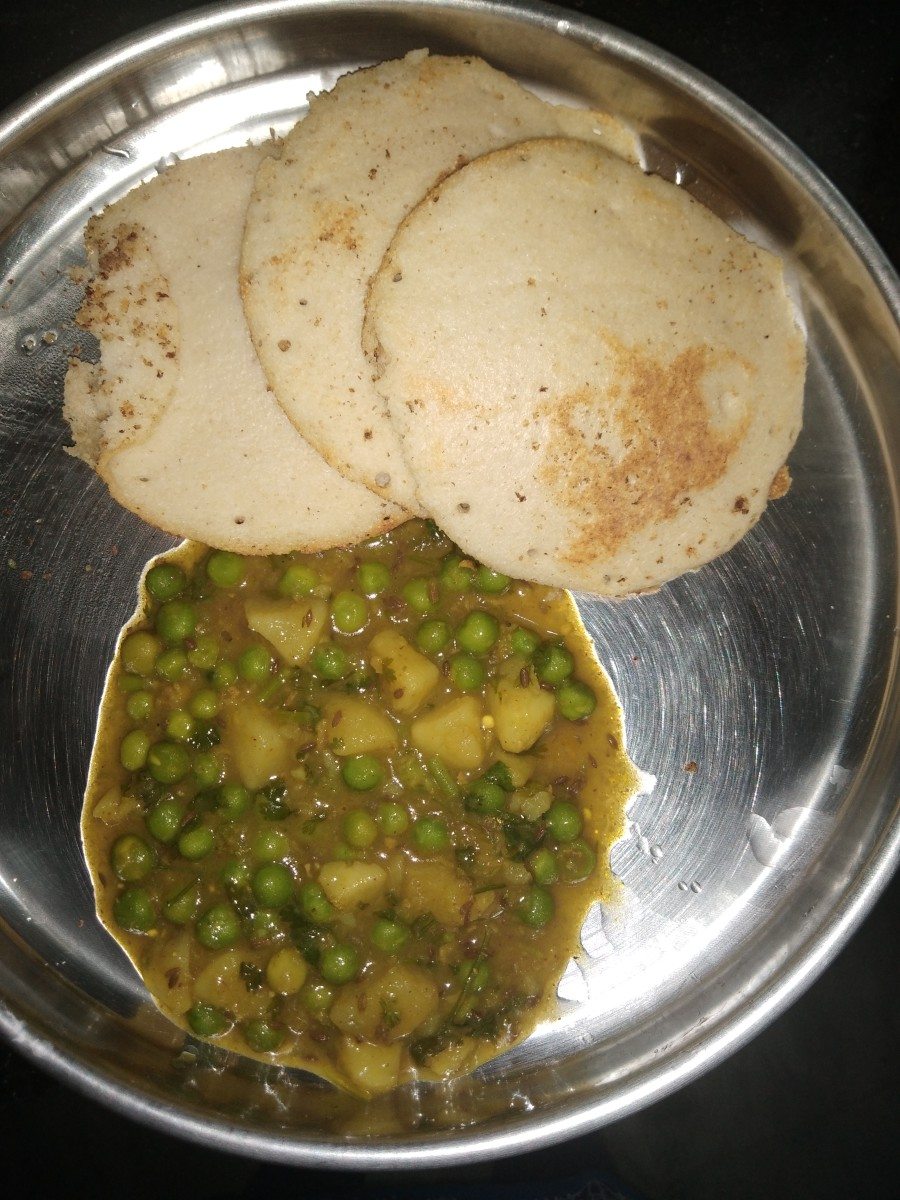 Serve hot with roti, paratha, etc. I enjoyed mine with uttappam.