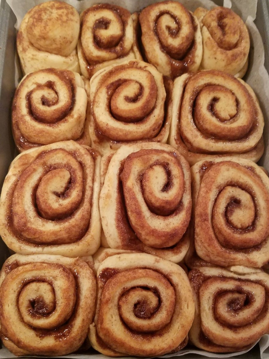 Rolls after baking