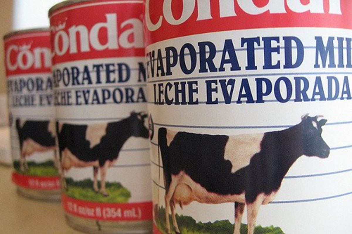 Use evaporated milk to make a heavy cream substitute.