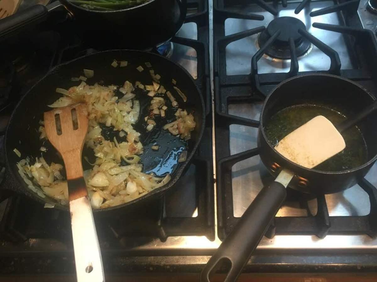 sautéed onion
