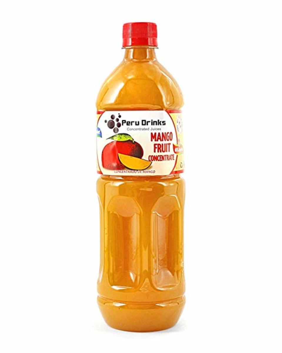 When a dessert recipe calls for lemon juice, a good substitute is mango juice concentrate.
