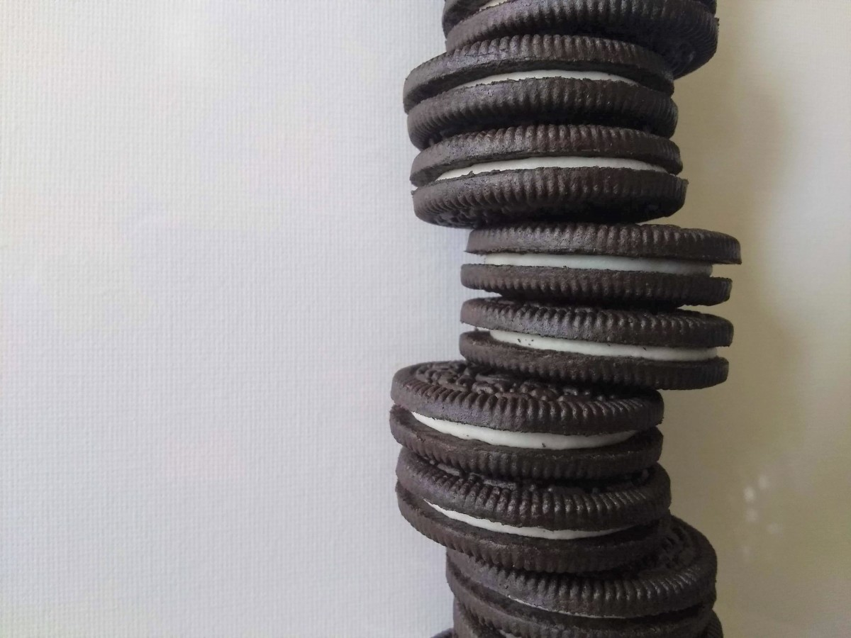 People often refer to Oreos as being vegan, but they're not really.
