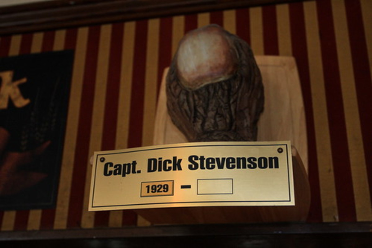 Now, they can fill in the blank; Dick Stevenson died in November 2019.