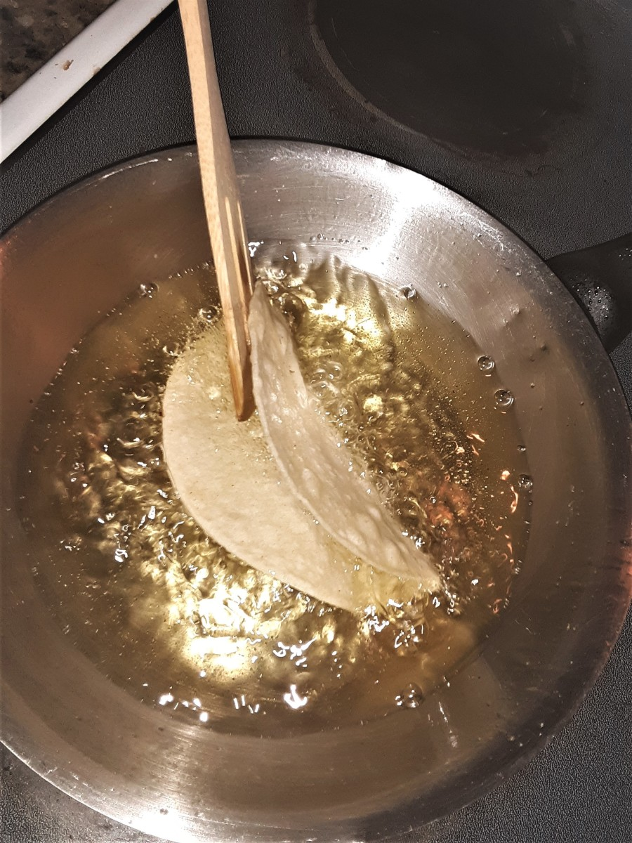 Frying Taco Shells