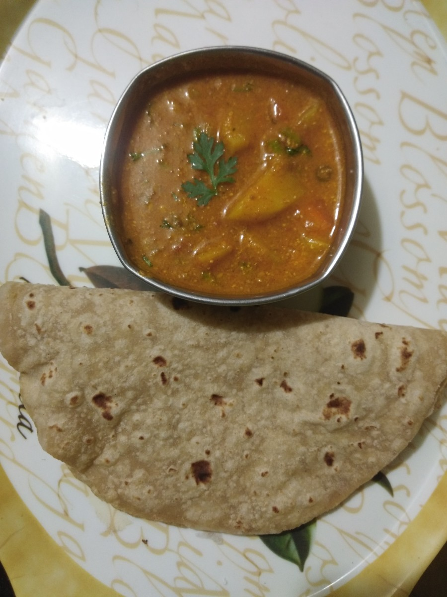 Serve hot with roti or chapati.