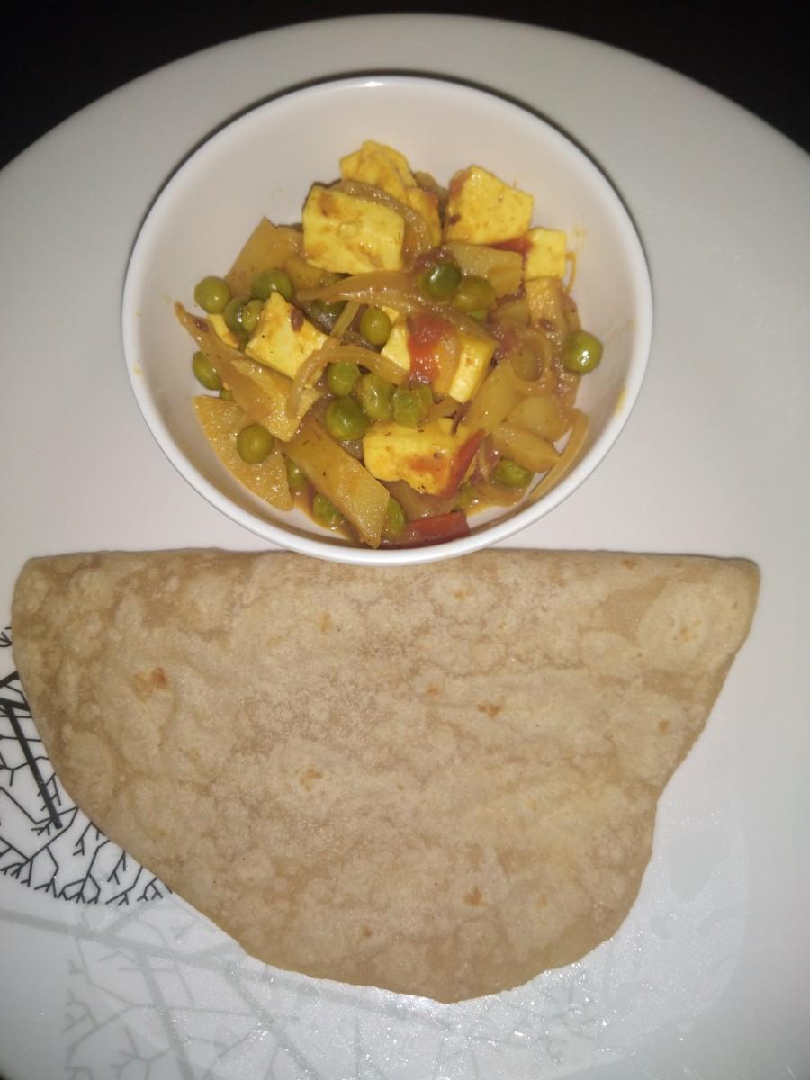 Serve hot with roti, chapati, phulka, or naan.