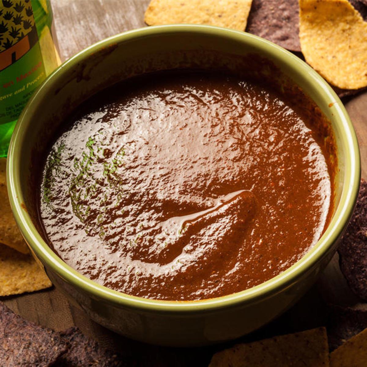 Spicy Mezcal Salsa